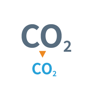 Carbon Reduction Icon